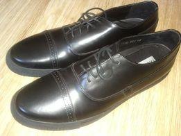 туфли - кеды кожаные