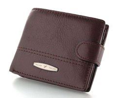 Мужской кожаный кошелек портмоне TAILIAN для стильного мужчины.