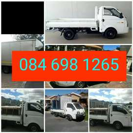Bakkie with trailer and drive