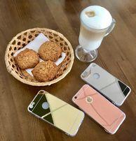 Зеркальный чехол на айфон iPhone 4,4s, 5,5s, se, 6,6s,6+, 7,7+,8,8+