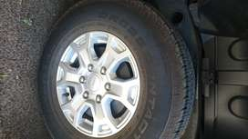 Wanted- Ford Ranger rim/tyre 16 inch