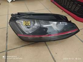 VW golf 7 GTi headlights xenon