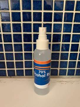 Spray Bottle Hand Sanitizers (70% Alcohol)
