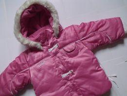 Теплая зимняя куртка, итальянский бренд CACAO MINI, рост 86 см.