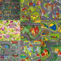 Ковер детский дорога, ковролин для детской комнаты, коврик, палас Киев