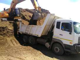 Sand and stone delivery