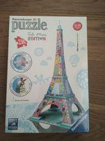Ravensburger Puzzle 3D Wieża Eiffla z Edycji Tula Moon, 216el