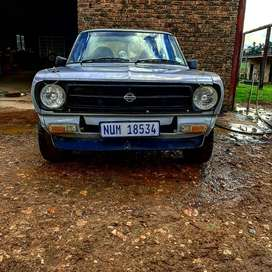1980 datsun 1400 bakkie with 1600 toyota twin cam (blue top)