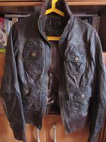 Стильная куртка BERSHKA кожа оригинал р.42