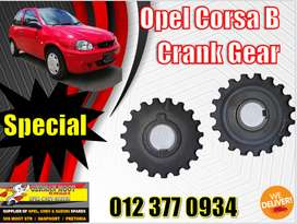 Opel new and used spares\parts-Corsa B crank gear