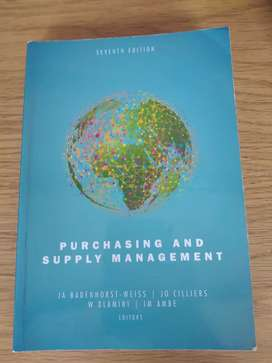 Purchasing and Supply Management   Badenhorst-Weiss, Cilliers, et al.