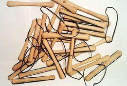 Коклюшки для волос ( деревянные)