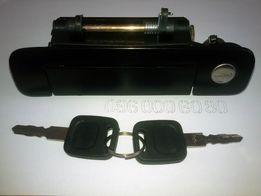 Ручка дверная передняя левая Audi 80 (В3, B4) / 100 (C3, С4) / A4 B5
