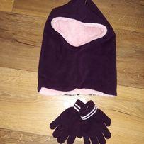 Nowy komplet kominiarka i rękawiczki