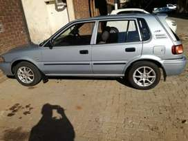 Toyota tazz at low price good condition