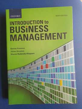 Introduction to Business Management by Erasmus