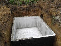 zbiornik betonowy szambo 4m3 gwarancja atest