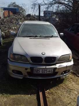 BMW 320D E46 - Stripping for spares