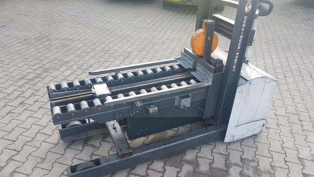 Paleciak wózek elektryczny HUBTEX 12r. wyciągarka Chojnów - image 5