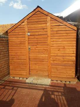 Wooden Wendy house