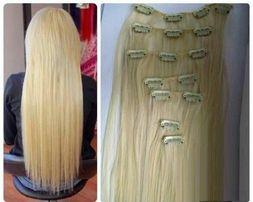 Волосы на заколках трессы.трессы ровные.волосы на заколках волной.пряд