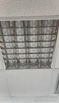 Растровые люминесцентные светильники (20 шт.)в подвесной потолок