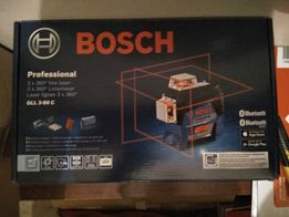 Линейный лазерный нивелир Bosch Professional GLL 3-80 C