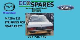 1995 Mazda 323 1.3 stripping for spares