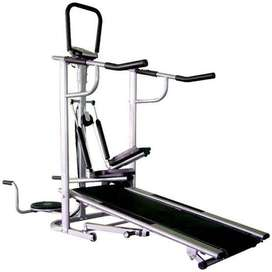 Trio fitness treadmill