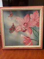Продам картину ручной работы ''Орхидеи''