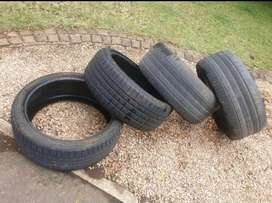 4 * 19'' BWM Run Flat Tyres for Sale
