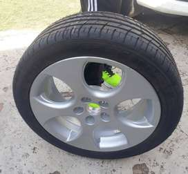 16 Inch Polo GTI Wheel & Tyre (Just 1 rim)