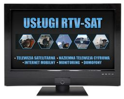 INSTALACJE RTV-SAT montaż serwis ANTEN telewizja DVB-T Warszawa 24h/7