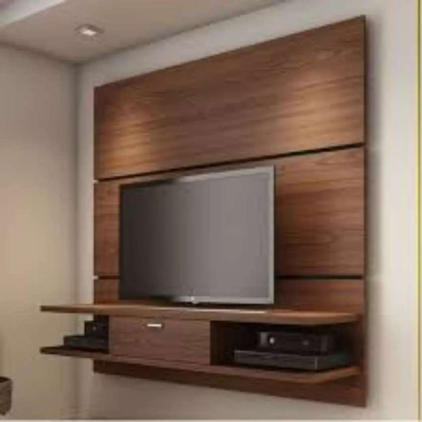 Fitted TV stand 0
