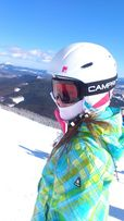 Лыжный костюм 140