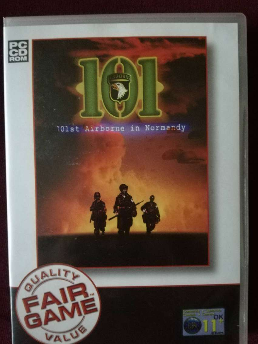 PC CD ROM GAME 101st Airborne in Normandy WWll 0