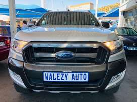 2016 Ford Ranger 3.2 6speed Wildrack Double Cab