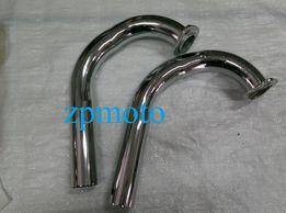 Колени выхлопной трубы глушителя ИЖ Юпитер 5 2 шт. Китай