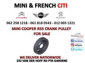Mini R55 Crank pulley for sale