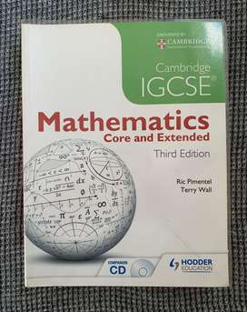 IGCSE Mathematics Core and Extended