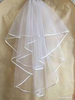 Welon ślubny nowy biały.