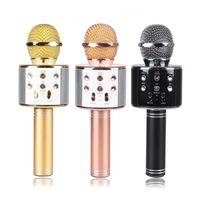 Беспроводной караоке микрофон Wster WS-858