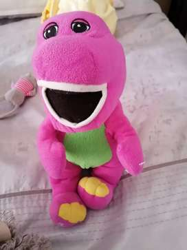 Barney teddy bear