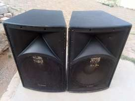 Dixon 1600W power15-inch speakers (pair)