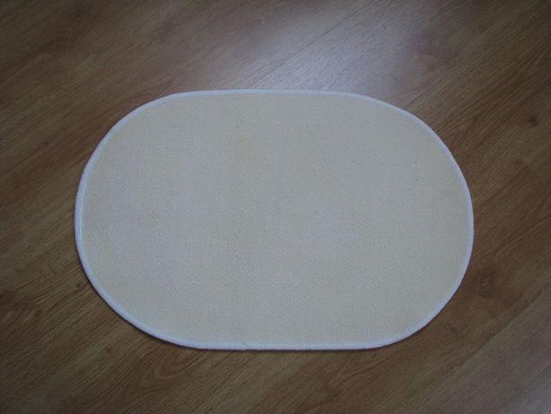 Białe, owalne dywaniki, chodniczki antypoślizgowe 65x44 cm Krapkowice - image 3