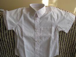 Koszulka chłopięca ,krótki rękaw ,rozmiar 98 cm (3 lata) kolor biały