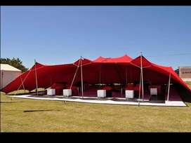 Stretch tent for sale and for hire