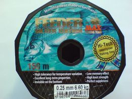 Feeder (c.brąz) 0,25mm 6,60kg 150m germany !