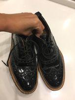 Итальянские броги туфли Voile Blanche 36