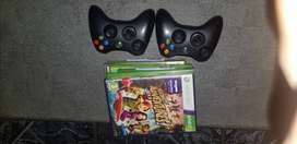Xbox 360 for sale. Full package..including 2 cordless controllers